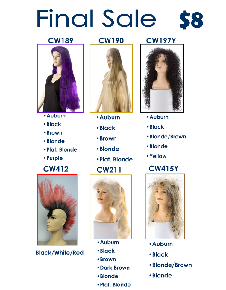 discounted wigs